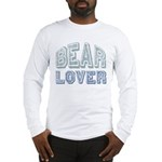 Bear Lover Grizzly Black Brown Long Sleeve T-Shirt
