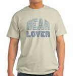Bear Lover Grizzly Black Brown Light T-Shirt