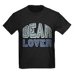 Bear Lover Grizzly Black Brown Kids Dark T-Shirt