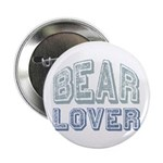 "Bear Lover Grizzly Black Brown 2.25"" Button (10 pa"