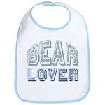 Bear Lover Grizzly Black Brown Bib