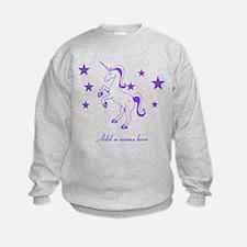 Personalizable Unicorn Sweatshirt