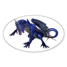 Dragon Oval Decal