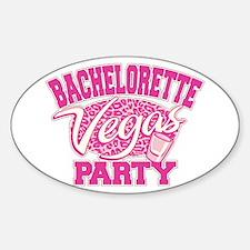 Vegas Bachelorette Party Decal