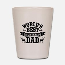 Hunter Dad Shot Glass