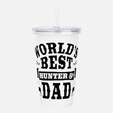 Hunter Dad Acrylic Double-wall Tumbler