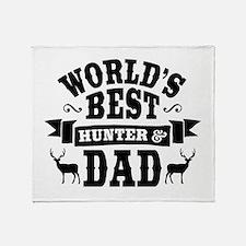 Hunter Dad Throw Blanket