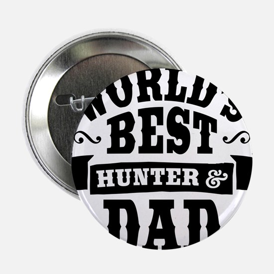 """Hunter Dad 2.25"""" Button (10 pack)"""