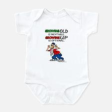 Growing Optional Infant Bodysuit