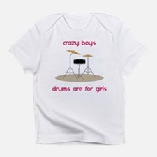 Funny Crazy Infant T-Shirt