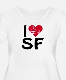 I heart SF Plus Size T-Shirt