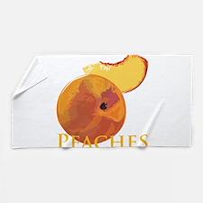 Unique Peach Beach Towel