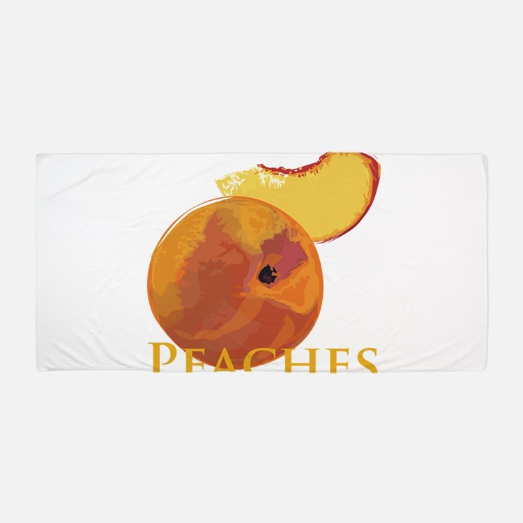 Cute Peaches Beach Towel