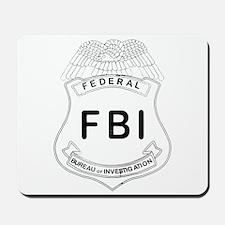 Feds Badge Mousepad