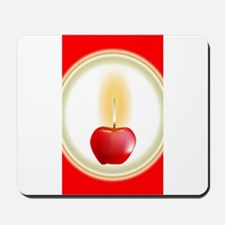 Apple Candle Mousepad