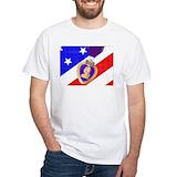 Military purple heart Mens White T-shirts