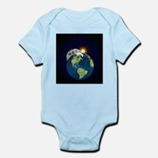 Earth Moon and Sun Body Suit