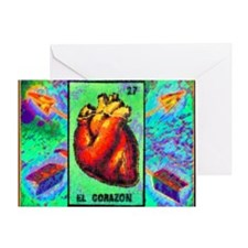 El Corazon & Arrows Greeting Card