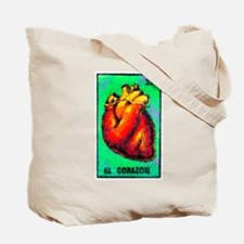 El Corazon & Arrows Tote Bag