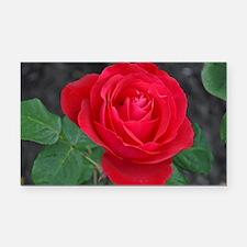 Cute Rose Rectangle Car Magnet