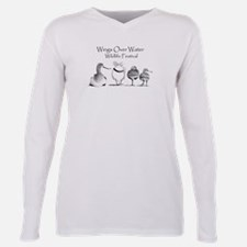 Unique Birding Plus Size Long Sleeve Tee