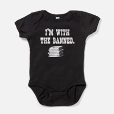 Cute Librarian freedom Baby Bodysuit