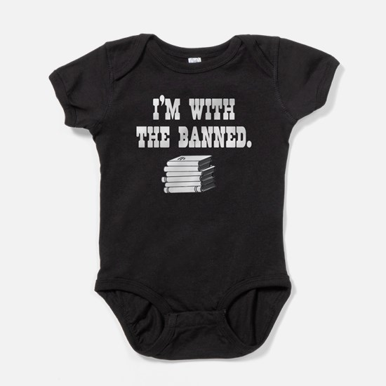 Cute Banned books Baby Bodysuit