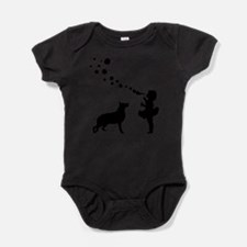 Cool Dog themed Baby Bodysuit