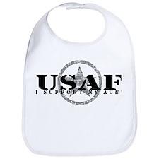 I Support My Aunt - Air Force Bib