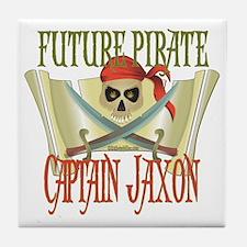Captain Jaxon Tile Coaster