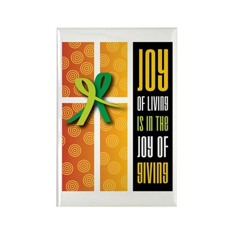 Joy of Giving Collection Rectangle Magnet (100 pac
