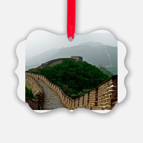 Cute Great wall of china Ornament