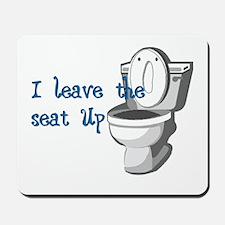 Seat Up Mousepad