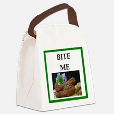 sausage Canvas Lunch Bag
