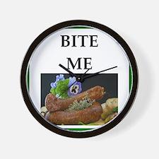 sausage Wall Clock