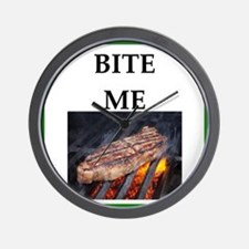 steak Wall Clock