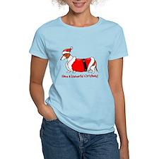 Red Piebald Santa T-Shirt