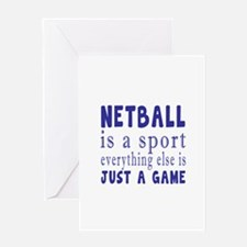 Netball is a sport Greeting Card