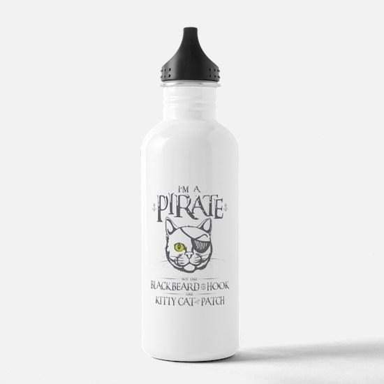 Pirate Kitty Water Bottle