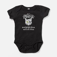 Pirate Kitty Baby Bodysuit