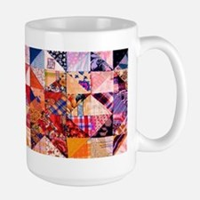 Country Patchwork Quilt Ceramic Mugs