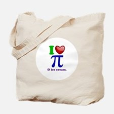 I Heart Pi Tote Bag