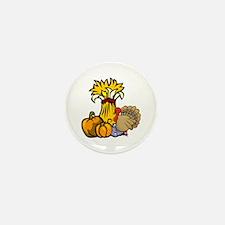 Thanksgiving Harvest Mini Button (10 pack)