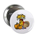 "Thanksgiving Harvest 2.25"" Button (100 pack)"