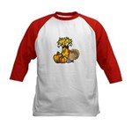 Thanksgiving Harvest Kids Baseball Jersey