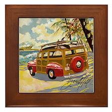 Woody Framed Tile