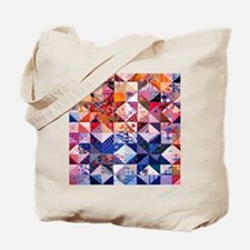 Country Patchwork Quilt Tote Bag