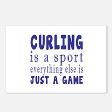 Curling is a sport Postcards (Package of 8)