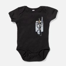 Unique Rim rim Baby Bodysuit