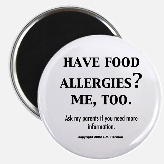 Funny Allergy awareness Magnet